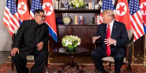 President Kim Jong-un and President Trump meet in Vietnam for a bilateral summit.