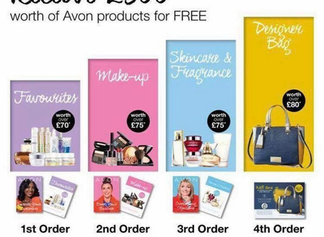 Hurry. This Amazing offer from Avon is coming to an end.Join Avon Uk Now and get your £300 worth
