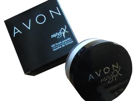 How does Avon Magix HD finishing powder work?