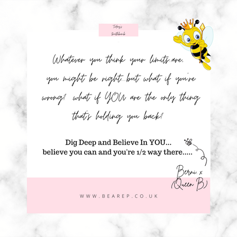 You Are Amazing!  Believe It!!!
