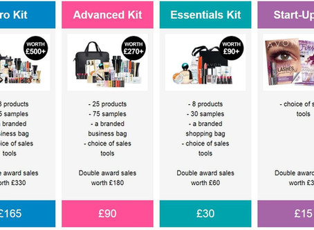 Sign up to AVON and choose one of these Amazing bestseller kits!!