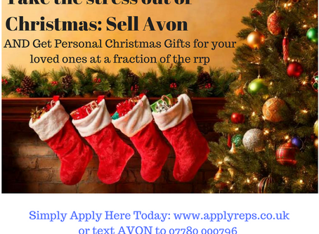 Join Avon UK Here Today and take the strain out of Christmas