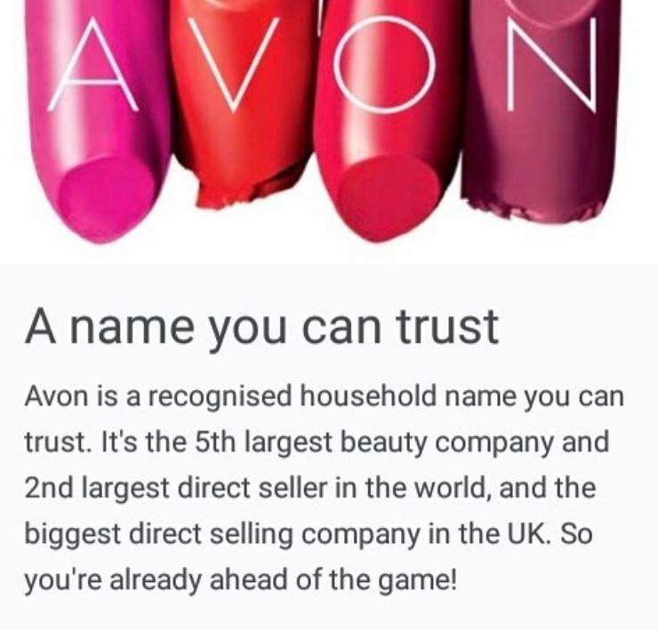 Avon, Sell Avon, Become an Avon Rep, Join Avon