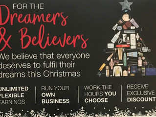 AVON Cosmetics....... For the dreamers and the believers....... the do-ers and the can-do-ers.......
