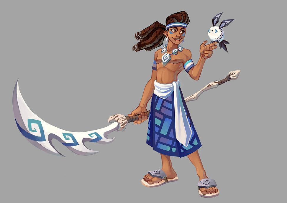 SP19_CG596_Vinod_Patten_Character design
