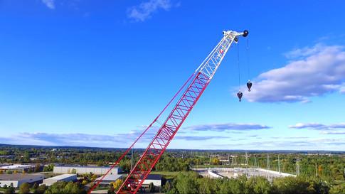 Industry Crane Rise