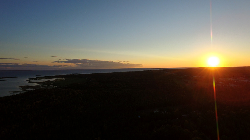 Straights of Macinac Sunset 2