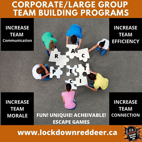 CORPORATE_LArge Group TEAM BUILDING prog