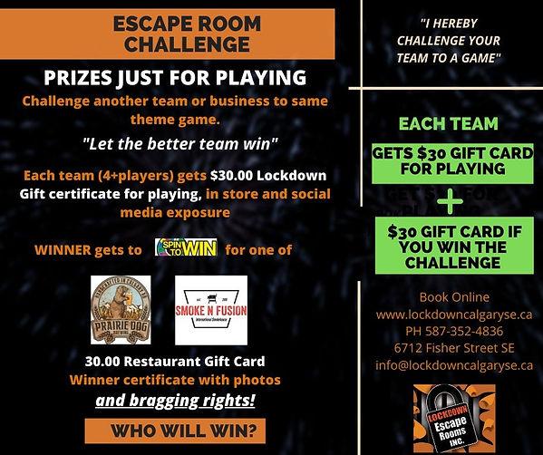 Lockdown Calgary's Escape Room Challenge