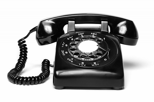 Telephone prop with audio when receiver lifted & dial a number to trigger 12V