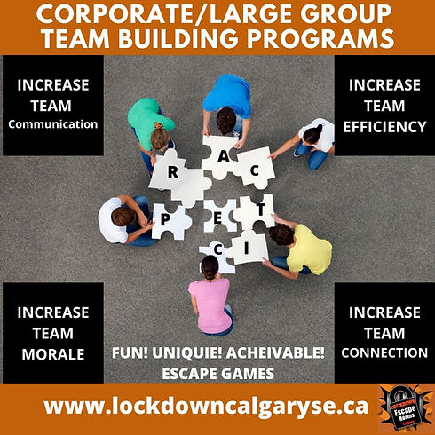 CORPORATE_LArge Group TEAM BUILDING prog