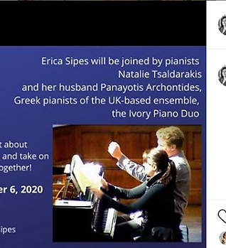 Special edition of the Sight-reading Maverick with the Ivory Duo Piano Ensemble