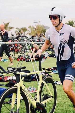 Triathlon coach, 70.3 Lanzarote