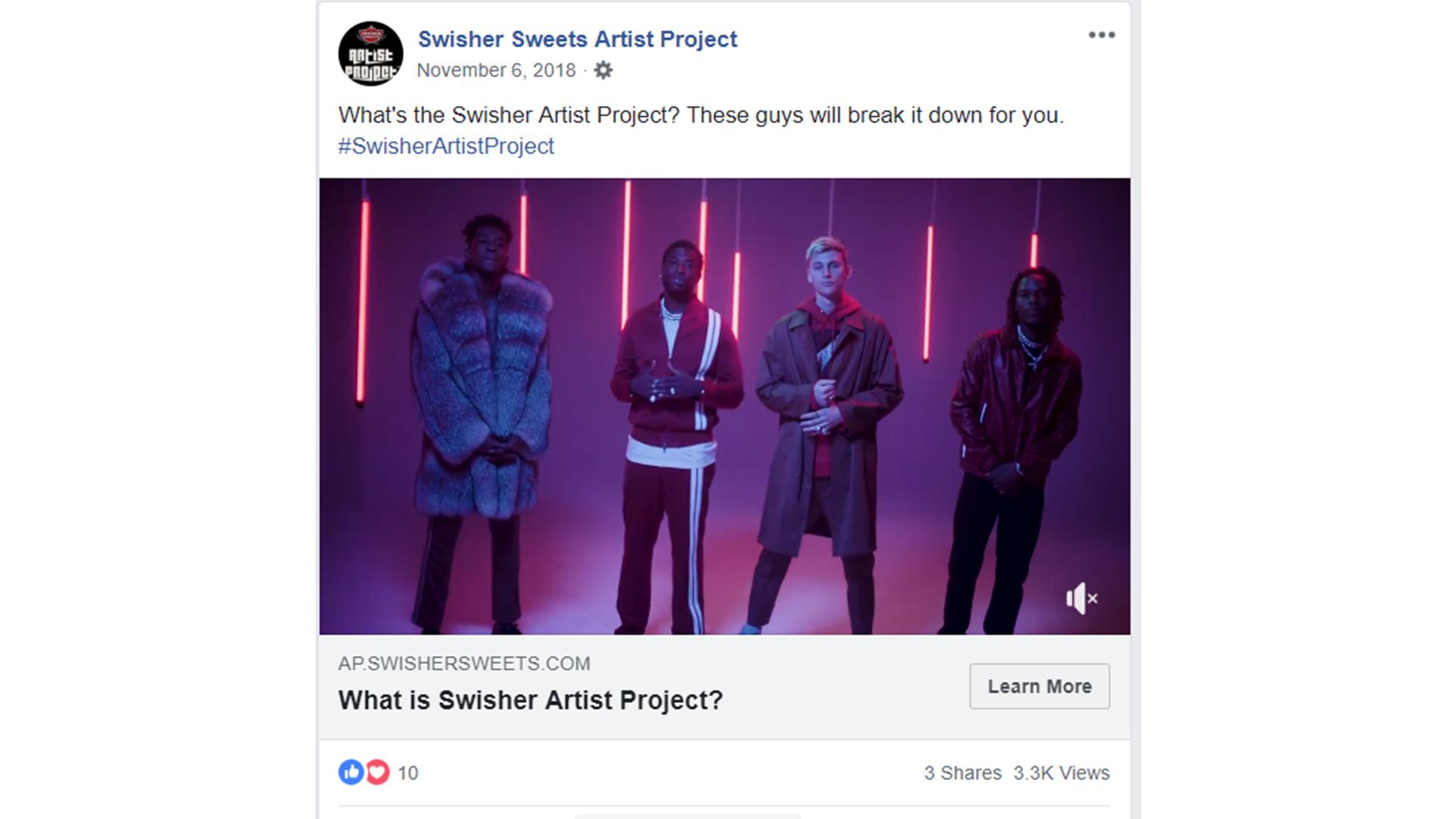 Taillight TV Swisher Sweets Artist Project | Nashville, TN