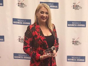 Taillight's Chandra LaPlume recognized at 2018 Women in Music City Awards