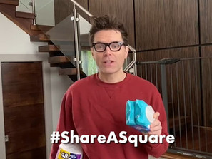 #ShareASquare Campaign with Cottonelle and Bobby Bones