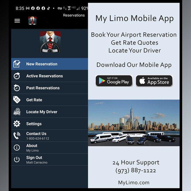 My Limo Mobile App