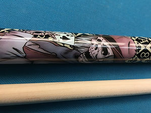 Mayhem Pool Stick Graphics Windham Billiards