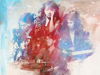 ITELLU1stアルバム『Planets』リリース!!