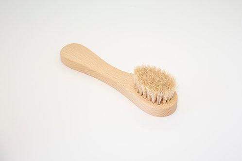 Четка за лице и брада с косъм от Пони