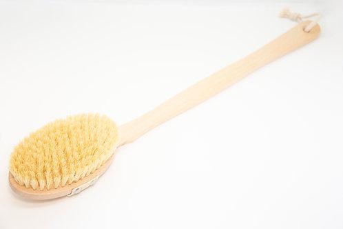 Четка за сухо четкане и баня с премахваща се дръжка