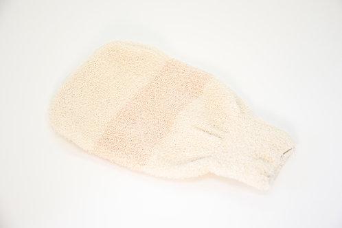 Ръкавица за баня  с Органичен памук и МЕДНИ НИШКИ
