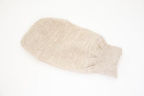 Ръкавица за баня от ЛЕН-ХАМАМ