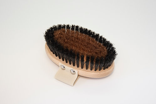 Четка за сухо четкане с конски косъм и медни нишки