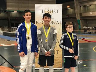 Congratulations to our Thrust RYC/ROC medalists!