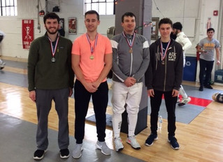 Great weekend with 7 medals for RFC fencers.