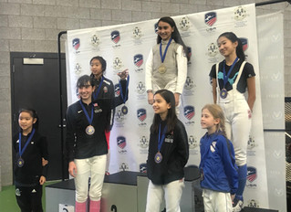 Layla Roy back on the top of the podium.