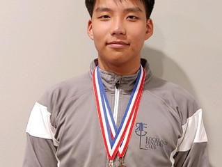Brian Park doubles at the Rockland RJCC