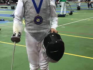 Two youth final 8 results for RFC  fencers