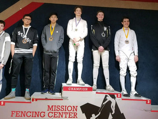Congratulations to our Regional Open Circuit medalists.