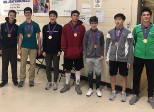 Six RFC fencers earned seven medals at the Fairfax RJCC.