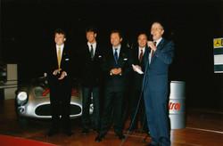Mercedes firar Le Mans-seger 1989