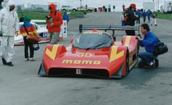 Momo Gebhardt på Monza