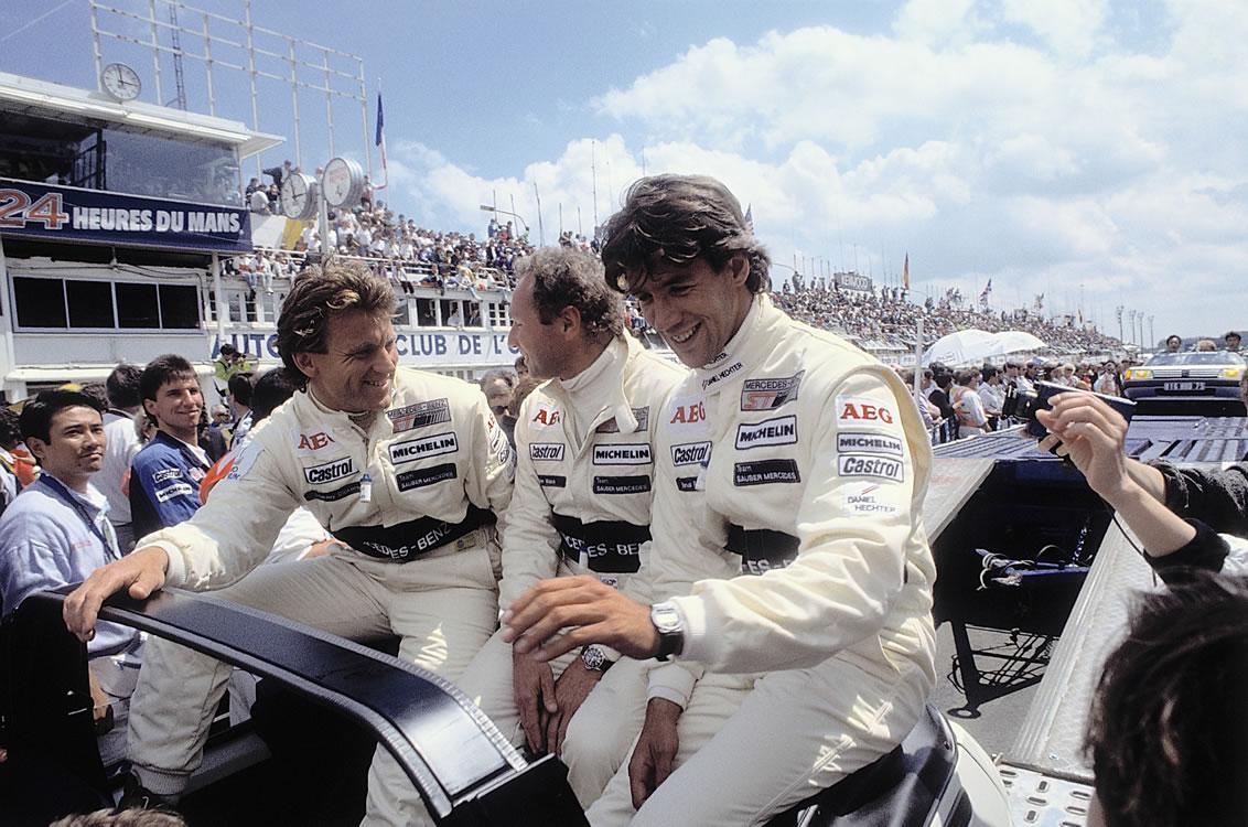 Stanley, Jochen och Manuel
