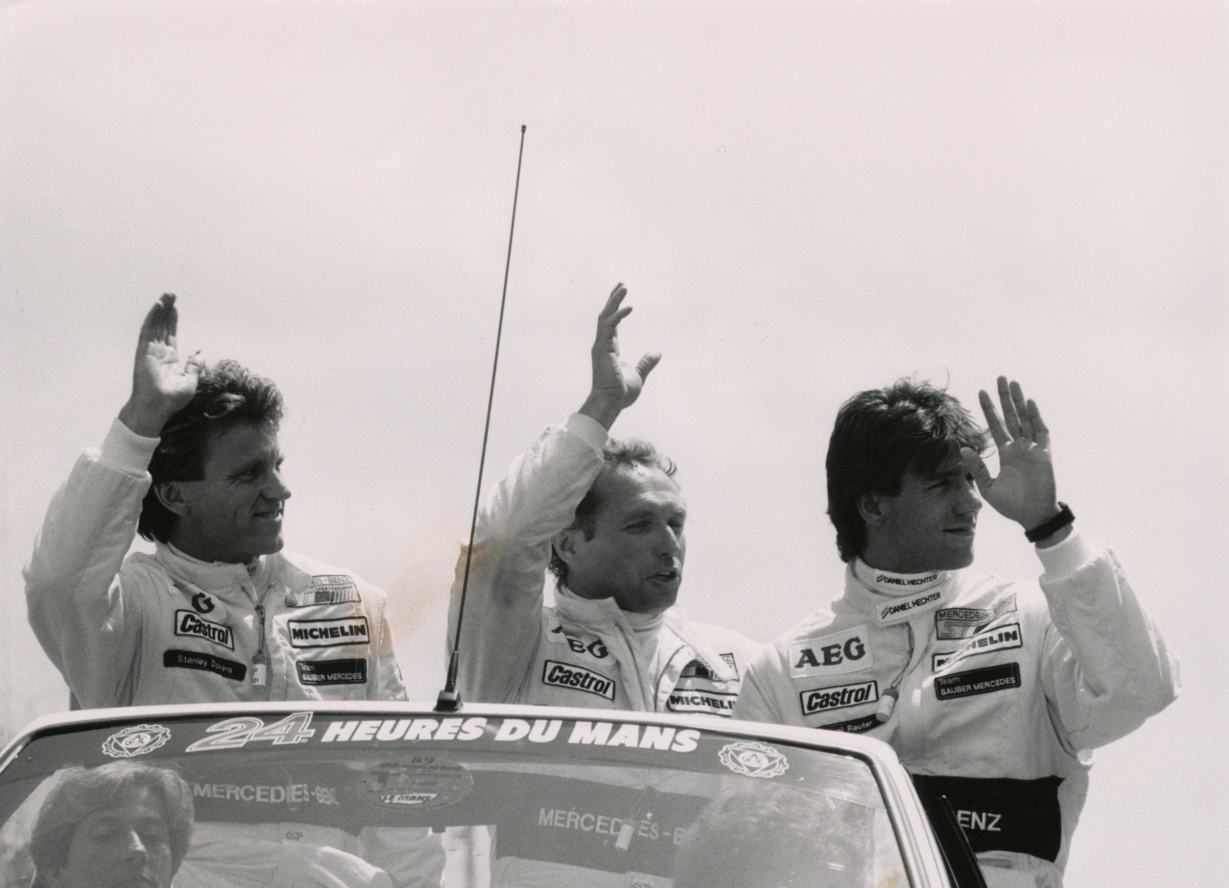 Ett vinnande Le Mans-team