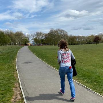 Mapesbury Mutual Aid...a relay around Gladstone Park..