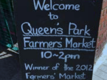 QUEEN'S PARK FARMERS' MARKET - MODEL OF SUSTAINABILITY