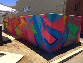 Downtown Visalia is Transformed from Mundane to Artsy