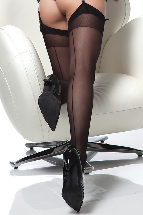 COQUETTE | Sheer Back Seam Stockings