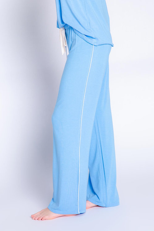 PJ SALVAGE | Tropical Modal Pant in Blue