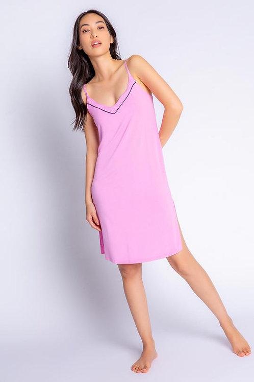 PJ SALVAGE | Tropical Modal Dress Lilac Rose