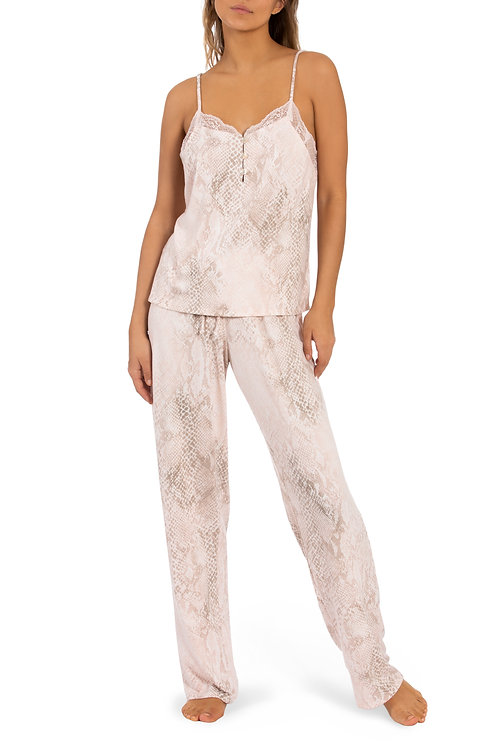 MIDNIGHT BAKERY   Sunny Cami and Pant Serpentine