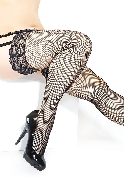 COQUETTE | Plus Size Fishnet Stocking