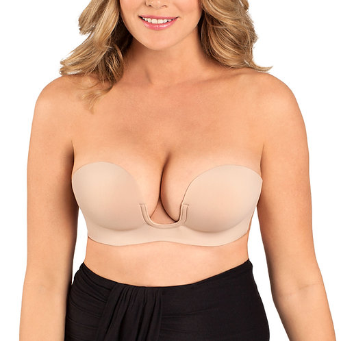 FASHION FORMS | Voluptuous U Plunge Backles Strapless