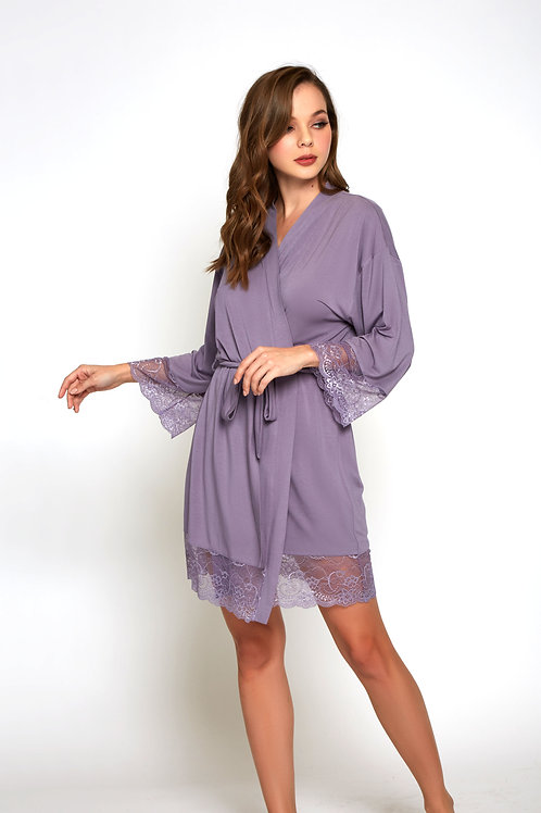 ICOLLECTION | Purple Modal Robe