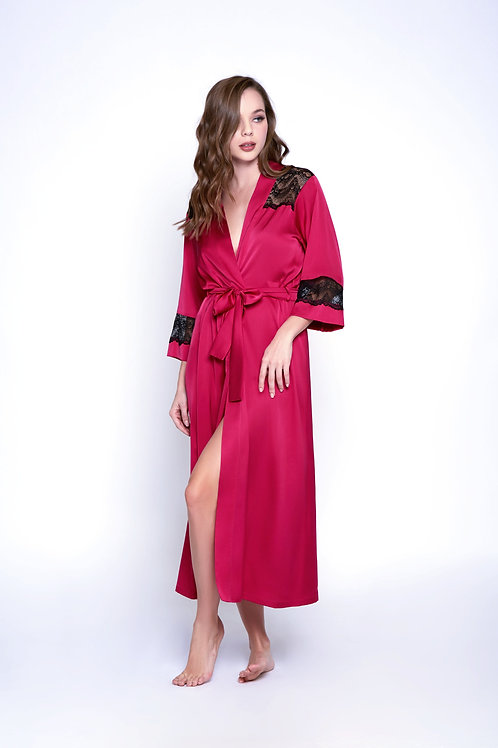 ICOLLECTION | Satin LS Robe